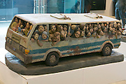 "55th Art Biennale in Venice - The Encyclopedic Palace (Il Palazzo Enciclopedico).<br /> Arsenale Nord. ""Passage to History: 20 Years of La Biennale di Venezia and Chinese Contemporary Art"".<br /> Li Zhanyang, ""Taking the Crowded Bus"", 2002."