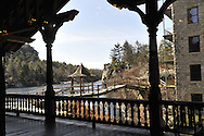 Mohonk Mountain House on grounds, at Ice Skating Pavillion, and indoors, at Sawanagunk Mountains, near Catskills, in upstate New York, United States of America, on March 2012