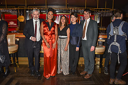 28 January 2020 - Winners Jonathan Coe, Sara Collins, Jonathan Coe, Jasbinder Bilan, Mary Jean Chan and Jack Fairweather at the Costa Book Awards 2019 held at Quaglino's, 16 Bury Street, London.<br /> <br /> Photo by Dominic O'Neill/Desmond O'Neill Features Ltd.  +44(0)1306 731608  www.donfeatures.com