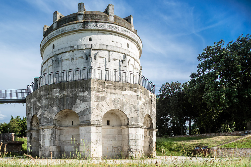 11 JUN 2016 - Ravenna - Mausoleo di Teodorico.