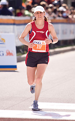 Ottawa, Ontario ---25/05/08--- \otm35f\ runs during the ING Ottawa Marathon, May 26, 2008..GEOFF ROBINS /