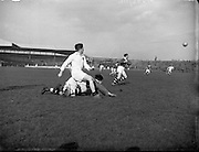 06/03/1955<br /> 03/06/1955<br /> 06 March 1955<br /> <br /> Combined Universities and The Rest v Ireland at Croke Park.