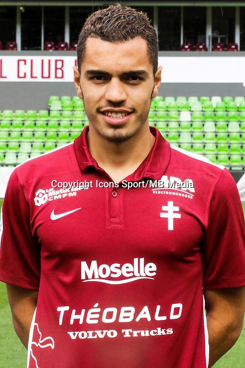 Hamza SAKHI - 14.09.2015 - Photo Officielle Metz<br /> Photo : Fred Marvaux / Icon Sport