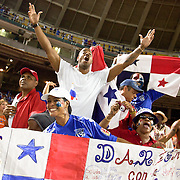 Panama fans at the concacaf gold cup quarterfinals Sunday, June 19, 2011 at RFK Stadium in Washington DC.