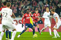 Adama Traore - 15.03.2015 - Lille / Rennes - 29e journee Ligue 1<br /> Photo : Andre Ferreira / Icon Sport