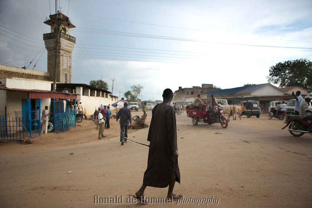 Juba, the capital of the newest country in the world, South Sudan. The town has grown from around 30 thousand inhabitants in 2005 to more than half a million in 2012. Still development is very rudimentary.