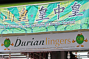 Singapore. Durian lingers.