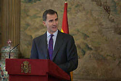 30.11.2015, Royal Palace, Madrid, ESP, König Felipe VI. von Spanien, Empfang für sephardische Juden, im Bild King Felipe VI of Spain // during an official reception with Sephardic Jews at Royal Palace in Madrid, Spain on 2015/11/30. EXPA Pictures © 2015, PhotoCredit: EXPA/ Alterphotos/ Victor Blanco<br /> <br /> *****ATTENTION - OUT of ESP, SUI*****