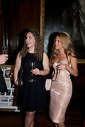 LIZZIE SAUL; NATALIE JOEL, Charity Dinner in aid of Caring for Courage The Royal Scots Dragoon Guards Afganistan Welfare Appeal. In the presence of the Duke of Kent. The Royal Hospital, Chaelsea. London. 20 October 2011. <br /> <br />  , -DO NOT ARCHIVE-© Copyright Photograph by Dafydd Jones. 248 Clapham Rd. London SW9 0PZ. Tel 0207 820 0771. www.dafjones.com.