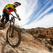 Kyle Strait during the Red Bull Rampage 2016