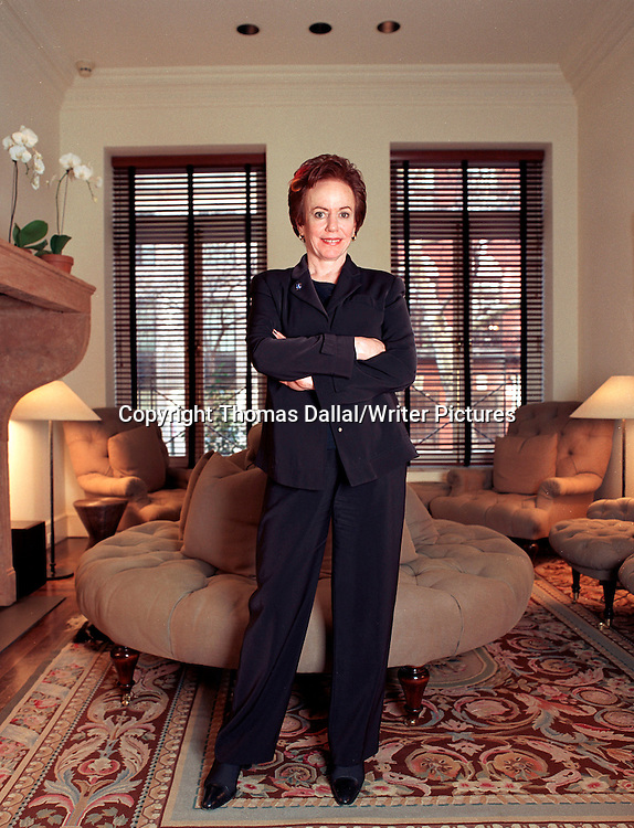 Faith Popcorn at her home and office, Manhattan<br /> 5th February 2002.<br /> <br /> Photograph by Thomas Dallal/Writer Pictures<br /> <br /> <br /> WORLD RIGHTS