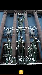 Gods & Gardar Magazine, Sweden; Stockholm theatre.