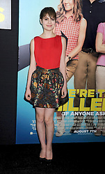 01.08.2013, Ziegfeld Theater, New York, USA, Filmpremiere, We are the Millers, im Bild Sami Gayle // during photocall for the movie 'We are the Millers'at the Ziegfeld Theater in New York, United States of Amerika on 2013/08/01. EXPA Pictures © 2013, PhotoCredit: EXPA/ Newspix/ Dennis Van Tine<br /> <br /> ***** ATTENTION - for AUT, SLO, CRO, SRB, BIH, TUR, SUI and SWE only *****