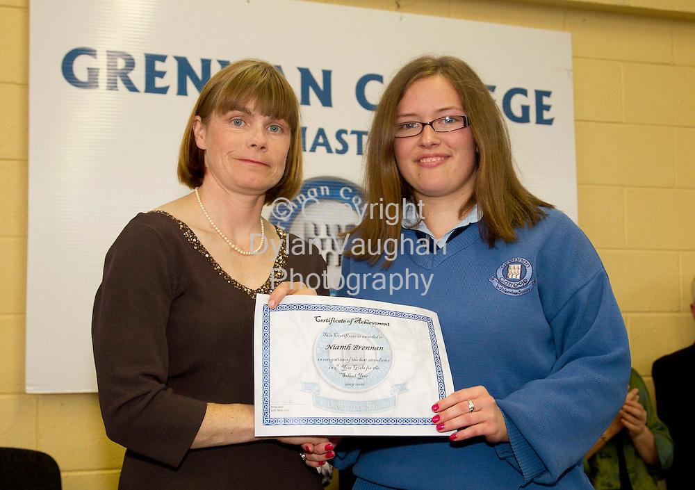 13/5/2010.Grennan College Awards Thomastown.Photograph Dylan Vaughan.