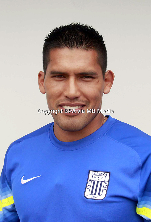 Football - Peruvian League Descentralizado - <br /> Movistar Trophy 2016 - Abertura Tournament / <br /> Club Alianza Lima - <br /> Andy Pando