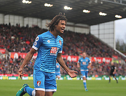 Nathan Ake of Bournemouth celebrates scoring his sides first goal - Mandatory by-line: Jack Phillips/JMP - 19/11/2016 - FOOTBALL - Bet365 Stadium - Stoke-on-Trent, England - Stoke City v Bournemouth - Premier League