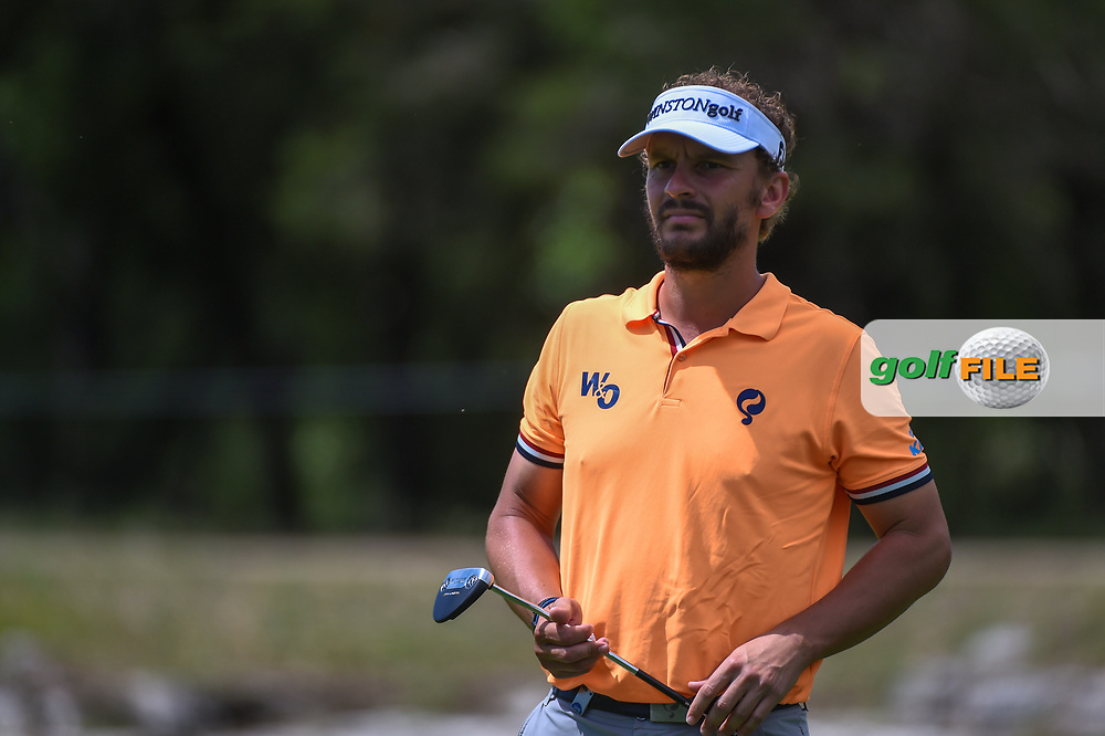 Joost Luiten (NLD) after sinking his putt on 12 during day 4 of the Valero Texas Open, at the TPC San Antonio Oaks Course, San Antonio, Texas, USA. 4/7/2019.<br /> Picture: Golffile   Ken Murray<br /> <br /> <br /> All photo usage must carry mandatory copyright credit (© Golffile   Ken Murray)