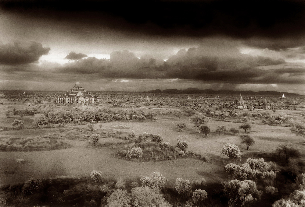 Storm Over the Plains - Bagan, Myanmar.