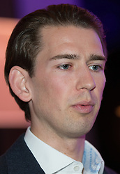 07.04.2016, Congress, Innsbruck, AUT, Wahlkampfauftakt Andreas Khol zur Präsidentschaftswahl 2016, im Bild Bundesminister für europaeische und internationale Angelegenheiten Sebastian Kurz (ÖVP) // Austrian Foreign Minister Sebastian Kurz during campaign opening according to the austrian presidential elections at the Congress in Innsbruck, Austria on 2016/04/07. EXPA Pictures © 2016, PhotoCredit: EXPA/ Johann Groder