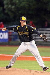 25 May 2013:  Cale Elam during an NCAA division 1 Missouri Valley Conference (MVC) Baseball Tournament game between the Wichita State Shockers and the Illinois State Redbirds on Duffy Bass Field, Normal IL