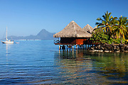 Moorea Island Bungalows in Tahiti
