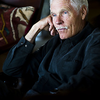 Ted Turner in his home at Snowcrest Ranch south of Alder, Mont., Oct. 12, 2011.