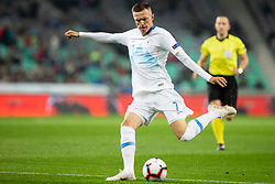 Josip Ilicic of Slovenia during football match between National Teams of Slovenia and Cyprus in Final Tournament of UEFA Nations League 2019, on October 16, 2018 in SRC Stozice, Ljubljana, Slovenia. Photo by Urban Urbanc / Sportida