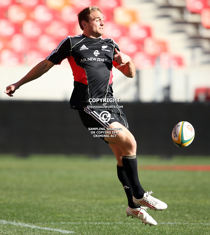 PORT ELIZABETH, SOUTH AFRICA - AUGUST 19, Andrew Ellis during the New Zealand national rugby team Captain's Run at Nelson Mandela Bay Stadium on August 19, 2011 in Port Elizabeth, South Africa<br /> Photo by Steve Haag / Gallo Images