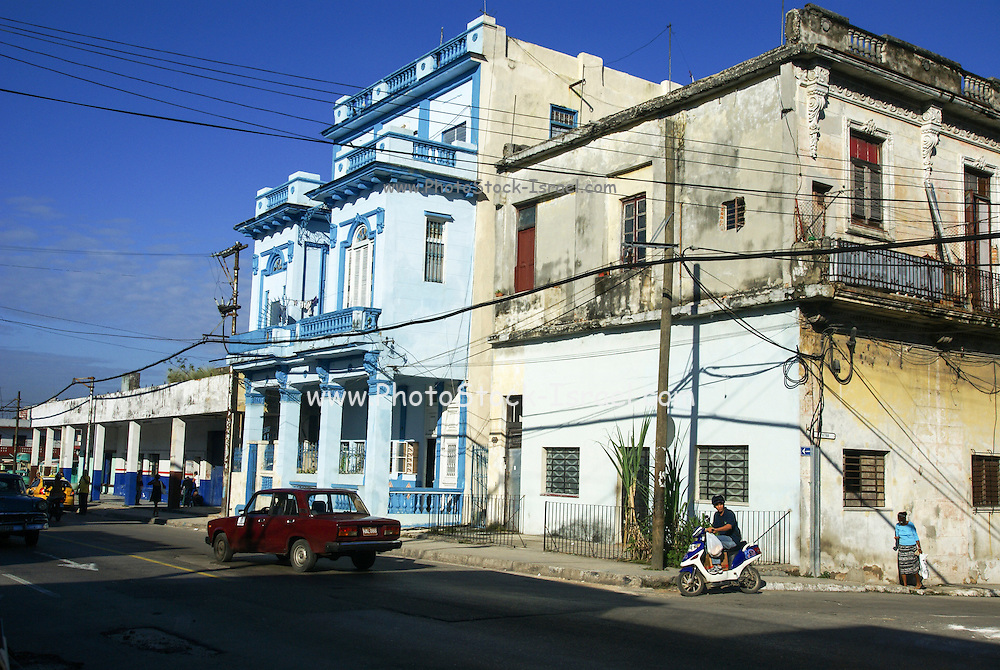 Havana, shanty building in the Old city