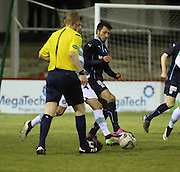 Dylan Carreiro - Dundee v Celtic - SPFL 20s Development League at Gayfield<br /> <br />  - &copy; David Young - www.davidyoungphoto.co.uk - email: davidyoungphoto@gmail.com
