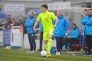 Alex Whittle (3) of York City during the Vanarama National League match between Eastleigh and York City at Arena Stadium, Eastleigh, United Kingdom on 12 November 2016. Photo by Graham Hunt.