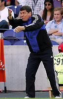 Fotball, 1. juli 2004, Tsjekkia - Hellas, EM semifinale, Euro 2004, riechenlands Trainer Otto Rehhagel