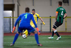 Agim Ibraimi of NK Domzale during football match between NK Domzale and NK Rudar in Round #28 of Prva liga Telekom Slovenije 2017/18, on April 22, 2018 in Sports Park Domzale, Domzale, Slovenia. Photo by Urban Urbanc / Sportida