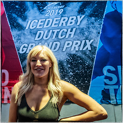 10-04-2019 NED: Kick off of Icederby in Thialf 2019/2020, Almere<br /> The Ultimate Icederby between long track and short track speed skating comes to invade the Netherlands / Elise Christie
