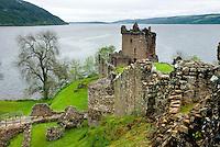 Castle Urquhart, Loch Ness Scotland