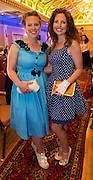 Aisling Canny Kinvara and Sarah Jane Waters, Beagh at A Vintage and Pre-Loved Fashion Extravaganza held in the Lady Gregory Hotel in Gort . A fundraising event organised by the Parents Council for Seamount's new pitch.  Photo:Andrew Downes