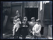 happy mother with little children France ca 1920s