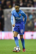 Arsenal's Joe Willock (69) during the The FA Cup 3rd round match between Nottingham Forest and Arsenal at the City Ground, Nottingham, England on 7 January 2018. Photo by Jon Hobley.