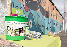 Edinburgh Dog & Cat Home Mural Unveiling , Edinburgh, 3 May 2019