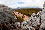 Oak Valley ( Elgin / Grabouw ), SOUTH AFRICA - riders during stage six of the Absa Cape Epic Mountain Bike Stage Race in Oak Valley ( Elgin / Grabouw ) on the 27 March 2009 in the Western Cape, South Africa..Photo by Sven Martin /SPORTZPICS