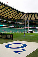 Picture by Paul Terry/.17/03/12.A General View of the ground before the England v Ireland RBS Six nations match at Twickenham stadium, London.