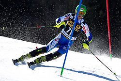 DVORNIK Aljaz of Slovenia during the 1st Run of Men's Slalom - Pokal Vitranc 2014 of FIS Alpine Ski World Cup 2013/2014, on March 9, 2014 in Vitranc, Kranjska Gora, Slovenia. Photo by Matic Klansek Velej / Sportida