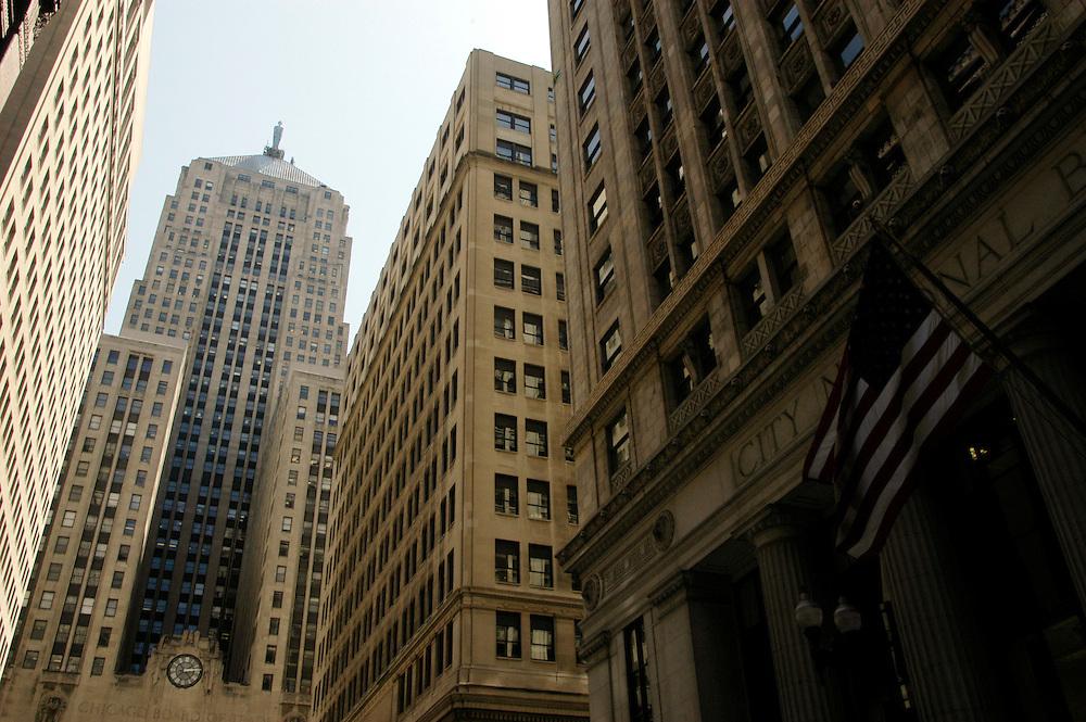 USA,  Illinois, Chicago, Chicago Board of Trade Building, La Salle Street
