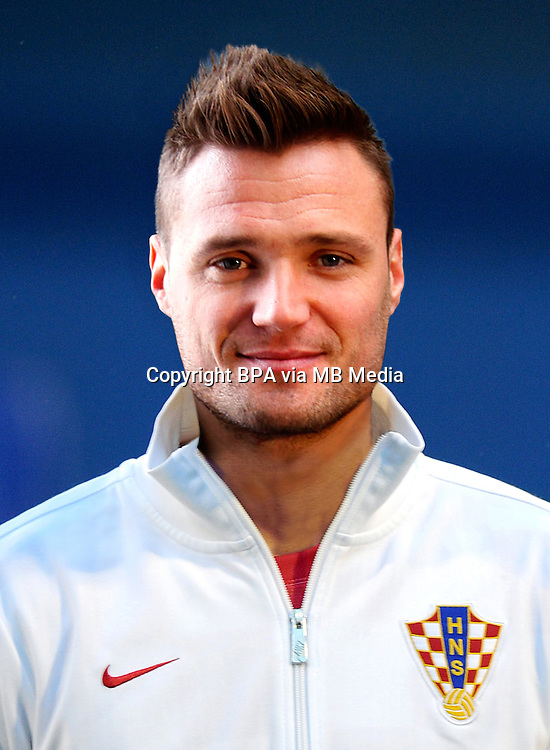 Football Fifa Brazil 2014 World Cup / <br /> Croatia National Team -<br /> Leon Benko of Croatia