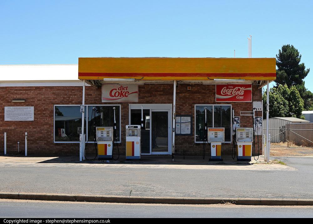 AUSTRALIA - ALBANY A petrol station 13/01/2010. STEPHEN SIMPSON...