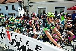 Olena Novikova (UKR) of Tre Colli-Forno D'Asolo ACS prior to  the Stage 1 (102,5 km) from Kamnik to Ljubljana at 26th Giro Rosa 2015 Women cycling race, on July 4, 2015 in Kamnik,  Slovenia. Photo by Vid Ponikvar / Sportida