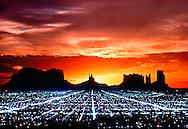 Future City, Arizona, Utah, Monument Valley, California, Los Angeles Lights