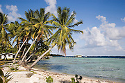 Takaroa, Tuamotu Islands, French Polynesia, (Editorial use only)<br />