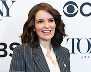 Tina Fey, 2018 Tony Award Nominee, in New York City on May 2, 2018