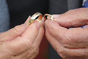 Wedding rings from an elderly wedding.